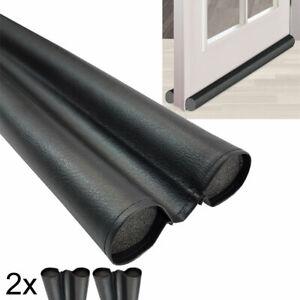 2x Türbodendichtung DUO 90cm Zugluftstopper Tür-Dichtung Zugluftstopp Dichtung
