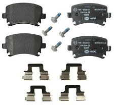 For Audi A3 A4 Quattro VW GTI Rear Brake Pad Set With Caliper Srews Pagid