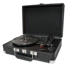 LogiLink USB Schallplattenspieler Digitalisierer in MP3 Aktenkoffer Design