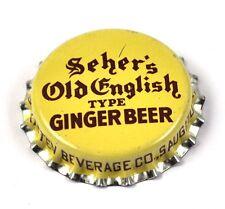 Seher's Old English Ginger Beer Kronkorken USA Soda Bottle Cap Korkdichtung