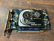 BFG Tech Nvidia Geforce 8600GT DDR3 256MB PCIe Gaming Graphics Video Card