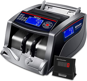 Money Counter with/ Counterfeit Bill Detector, sorter machine Electronic Digital