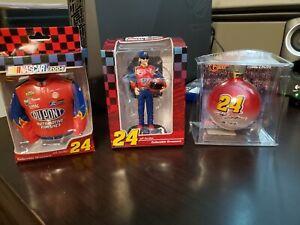NASCAR #24 JEFF GORDON  COLLECTIBLE ORNAMENTS