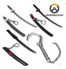 Hot Game Overwatch Genji Arms Scabbard Alloy Decoration Roadhog Weapon Model