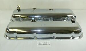 Chevy Big Block Stock Replacement Chrome Steel Valve Covers