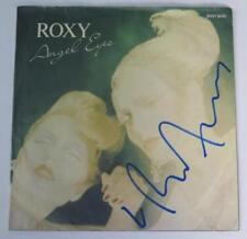 "Bryan Ferry ROXY MUSIC Signed Autograph ""Angel Eyes"" 45 rpm Single Vinyl Record"