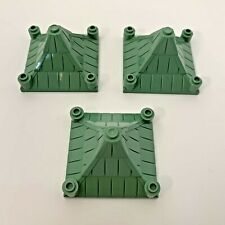 LEGO Harry Potter Hogwarts Peaked Roof Top Green x 3 pce- Part 30614