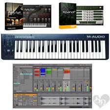 M-Audio Keystation 49 II - USB MIDI Software Keyboard Controller Bundle