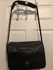 Delsey Black Leather Corium 05 Camera Bag Ex. Condition
