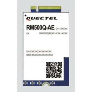 Quectel RM500Q-AE 5G NR global module 3GPP Release 15 NSA/SA operation, Sub-6 GH