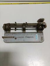 Wilson Jones Improved Hummer 3 Hole Paper Punch Model 308