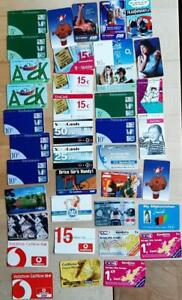 Germany stock 44 phone cards
