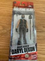 THE WALKING DEAD TV SERIES 7.5 GRAVE DIGGER DARYL DIXON ACTION FIGURE McFARLANE