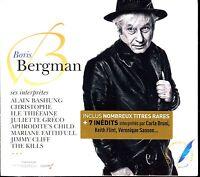 BORIS BERGMAN - 3 CD COMPILATION NEUF ET SOUS CELLO