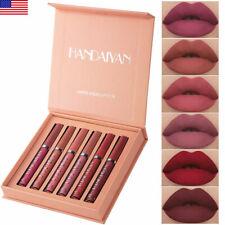 6pcs Matte Lipstick Set Waterproof Long Lasting Make Up Lipstick Beauty Cosmetic