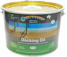 Organoil Timber Decking Oil for external timber CLEAR 10 litre - 100% Natural