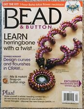 Bead And Button Learn Herringbone With A Twist October 2015 FREE SHIPPING!
