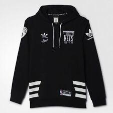 Adidas Brooklyn Nets x Hundreds Hoody Black White Sz 2XL AB9656