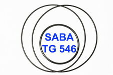 SET CINGHIE SABA TG 546 REGISTRATORE A BOBINE BOBINA EXTRA FORTI FRESCHE TG546