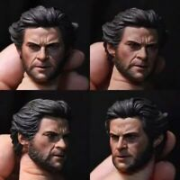 "Custom 1/6th Youth Wolverine Head Sculpt For 12"" Man Figure Body"