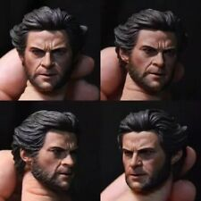 "Custom 1/6th Youth Wolverine Head Sculpt For 12"" Man Figure Body"