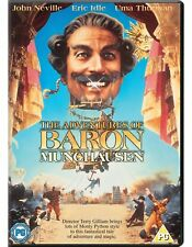 The Adventures of Baron Munchausen Region 4 New DVD