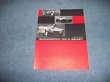 "1952 Crosley Hot Shot Vintage Road Race Article ""Biography of a Beast"""