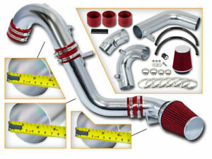 BCP RED 12-15 Civic Si /Acura ILX 2.4 Cold Air Intake Induction Kit + Filter