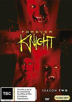 FOREVER KNIGHT : COMPLETE SEASON 2  -  DVD - UK Compatible - sealed