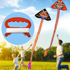 New D Shape 30M Kite Line String Winder Handle Outdoor Board Children Kids Kite