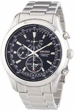 Mens Seiko Alarm Chronograph Watch SPC125P1