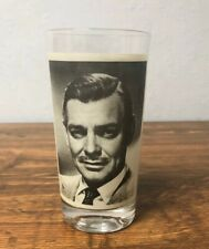 Clark Gable Drinking Glass It Happened One Night Movie 1934 Vintage Collectible