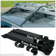 Portable Soft Black Car Off-Road Rooftop Cargo Storage Luggage Baggage Carrier