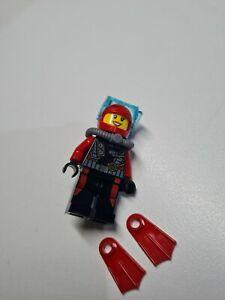 Lego Minifigure x 1 scuba theme unique flippers goggles cty0559