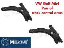 MEYLE TRACK CONTROL ARM X2 WITHOUT BALL JOINTS VW GOLF MK4 INC 1.8T GTI (PAIR)