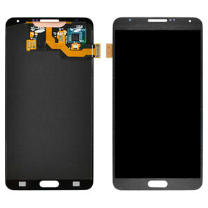 OEM Samsung Galaxy Note 3 N900 AMOLED LCD Screen Digitizer and Stylus Flex White