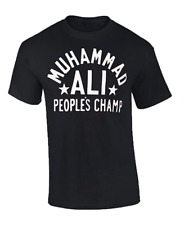 Mohammad ALI T-Shirt PEOPLE'S CHAMP Boxing T shirt Muhammad Ali Clay Boxer