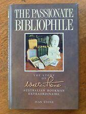 The Passionate Bibliophile - Jean Stone (HC/DJ, 1988) - Australian