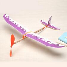 Segelflugzeug Gummiband Elastisches Fliegendes Flugzeug Modell Scherzt Spielzeug