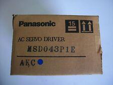 PANASONIC  SERVO DRIVE   MSD043P1E   NEW IN BOX  Fast  shipping