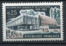 STAMP / TIMBRE FRANCE NEUF LUXE ** N° 1448 ** MAISONS DES JEUNES DE LA CULTURE