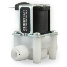 """1/4"""" 110V 120VAC NC Electric Solenoid Valve Push-In Connectors Quick Connect"""