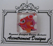 Accoutrement Designs Fish Needle Minder Magnet Raymond Crawford #22