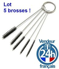 LOT 5 Brosses Goupillons Nettoyage Aerographe Buse Maquette compresseur Tamiya