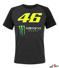 VR46 Shirt mit Valentino Rossi & Monster Energy-Print, T-Shirt in Größe XXL - 56