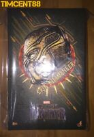 Ready! Hot Toys MMS471 Black Panther - 1/6 Erik Killmonger Figure