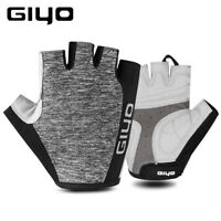 MTB Half Finger Gloves Cycling Racing Bicycle Mitts Shockproof Bike Gel Gloves