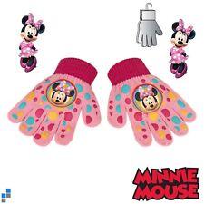 Disney Minnie Mouse Kinderhandschuhe Mädchen Winter Handschuhe mit PVC Aufdruck