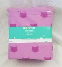 4 pc Pillowfort Feline Fantastic Full Sheet Set NIP