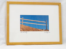 Pooh's Pail Waiting David Ritchey Signed/Matted/Framed Fine Art Photography